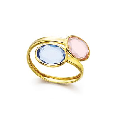 31984bdd894f anillo oro con dos piedras. PrevNext